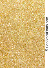 golden glitter texture background
