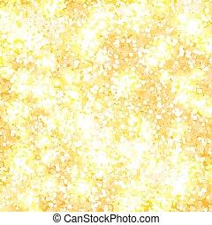 Golden glitter, vector background