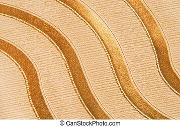 golden  glitter wavy background