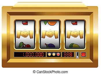 Golden Handshake Slot Machine