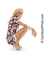 golden heels pin-up #2