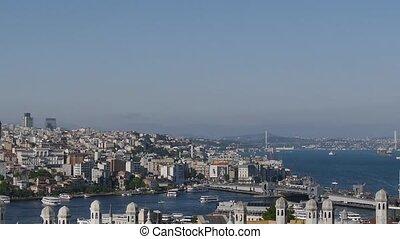 Golden Horn Bay. Istanbul