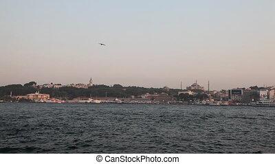 Golden Horn bay - Istanbul, Turkey