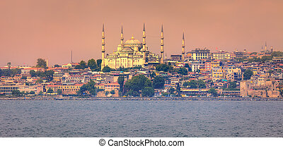 Golden Horn in Istanbul, Turkey