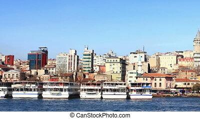 Golden Horn, Istanbul in Summer Time