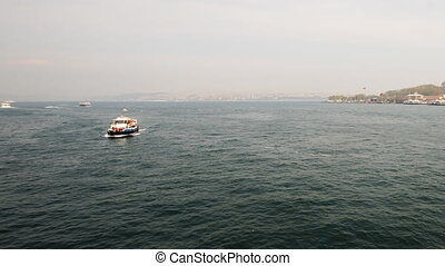 Golden Horn, Istanbul, Timelapse - Golden Horn, Istanbul,...