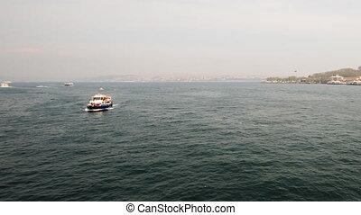 Golden Horn, Istanbul, Timelapse