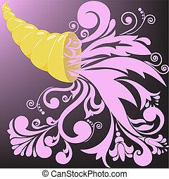 golden horn of plenty