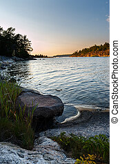 Evening in the Stockholm archipelago