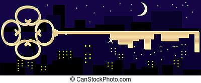 golden key city