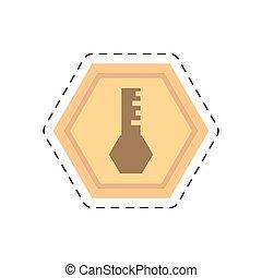 golden key security access tool cut line