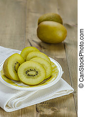 golden kiwi fruit