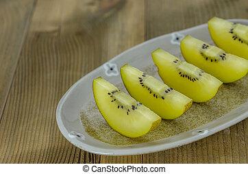 golden kiwi fruit
