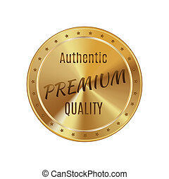 Golden label premium quality