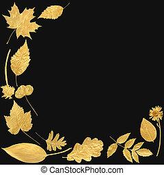 Golden Leaf Selection