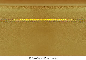 golden leather