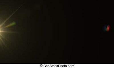 Golden Lens Flare Rotation 018