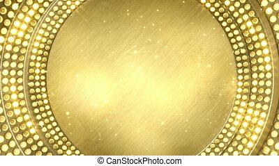 golden light bulbs festive loopable - golden light bulbs....