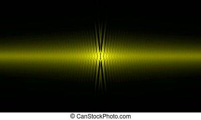 golden light ray wave,music rhythm