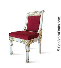 Golden luxury chair