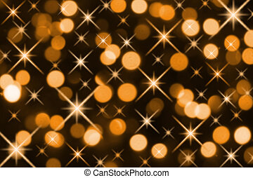 Golden Magic Holiday Lights