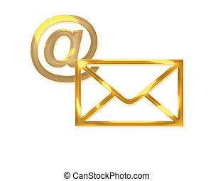 golden mail - golden message/news