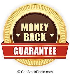 Golden medal Money Back guarantee