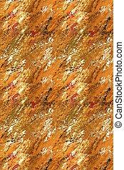 Golden Meltdown - Gold blur background.