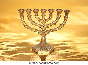 Golden Menorah - Golden Menorah