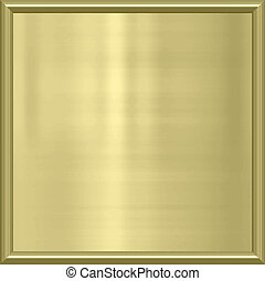 golden metal award frame - great image of shiny gold metal...