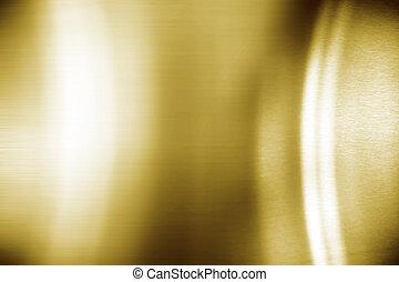 Golden metal highlights