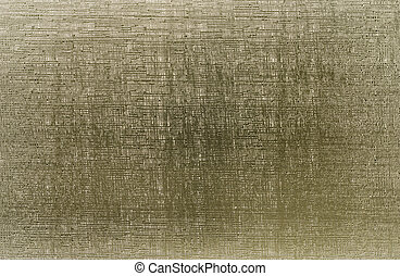 Golden metallic background with scratches