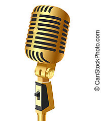 gold(en), mikrofon, isolera