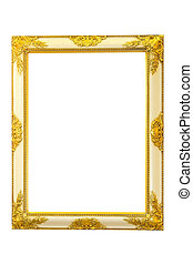 Golden mirror