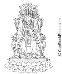 Golden Mother of Taoism - Golden Mother is the Goddess of...