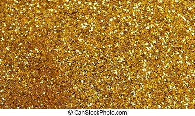Golden motion background .
