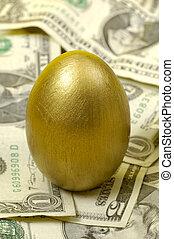 Golden Nestegg 2 - Golden Egg and Cash