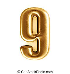 golden number - 9