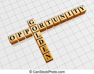 golden opportunity like crossword