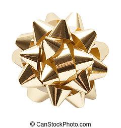 Golden Ornament Star