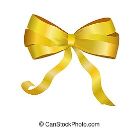 Golden Package Bow