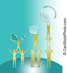 Golden partners - grasping the Golden partners to success...