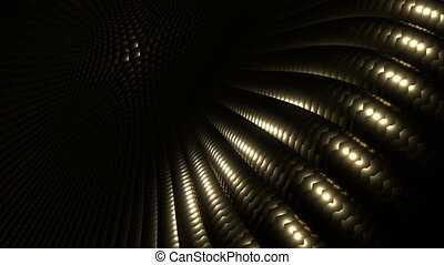 golden pattern - light
