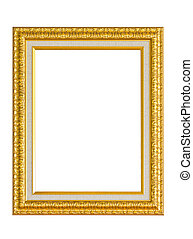 Golden Picture Frame.