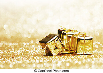 Golden presents