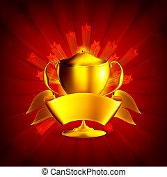 Golden Prize, Background eps10