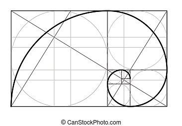 Golden ratio. Cover template. - Golden ratio.Template for...