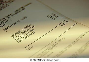 Golden receipt