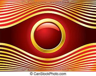 Golden red eye