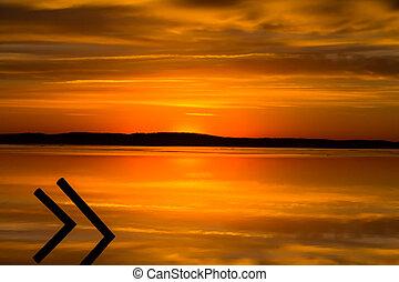 Golden Reflections